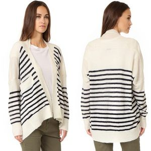 Mes Demoiselles Monfred Striped Cardigan One Size